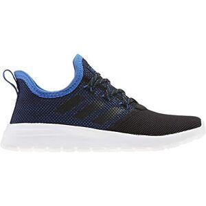 Adidas Kids' Lite Racer Reborn Sneaker, Black/White/Blue