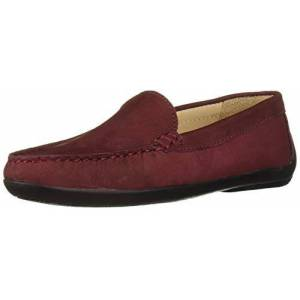 Driver Club USA Unisex Leather Made in Brazil San Diego 2.0 Venetian Driver Loafer, Wine Nubuck, 11.5 M US Little Kid