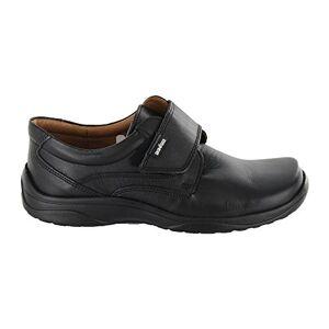 Audaz Zapatos para Niño Fabricados En Piel Color Negro con Plantilla Confort y Velcro 17