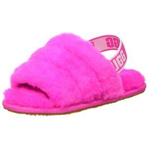 UGG Zapatillas unisex para niños T Fluff Yeah, Rosa, roca, 16 MX Niñito