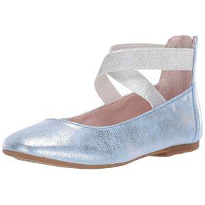 NINA Marissa Zapatillas de Ballet para niños, Azul, 15 MX Niño