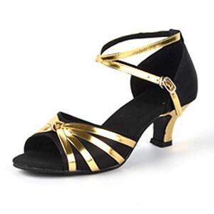 Inlefen De Las Mujeres Zapatos de Baile Latino de Tango Performance Salsa Party Zapatos de Baile