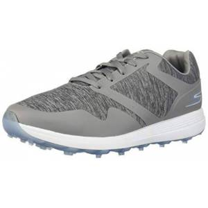 Skechers MAX Zapatos de Golf para Mujer, Gray/Blue Heathered, 9.5 US