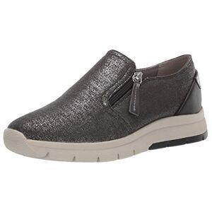 Geox Callyn 1 Zapatillas de Moda con Cierre para Mujer, Oxford Negro, 5 US