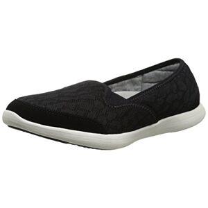 G.H. Bass & Co. Zapatillas para Mujer, Negro, 6 M US