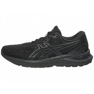 ASICS Women's Gel-Cumulus 23 Running Shoes, 7M, Black/Graphite Grey