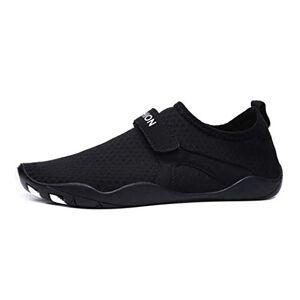 Muji Cheng Sandalias livianas para Hombre Zapatos de Agua al Aire última intervensión Trekking Caminar Zapatillas Deportivas, Negro, 10 M US