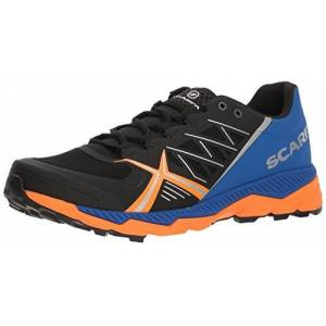 Scarpa Mens Men's Spin RS Trail Running Shoe, Black/Turkish Sea, 45.5 Medium EU (11.666666666666666 US)