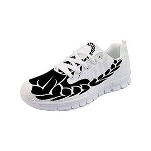 GULTMEE Zapatillas ligeras para correr, vista trasera de una fórmula 1, coche de carrera, competición deportiva, estilo de dibujos animados, zapatos deportivos de malla de aire, mujeres y hombres, Multicolor5, 11