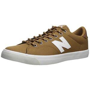 New Balance Men's 210v1 Skate Shoe Sneaker, BROWN/WHITE, 7.5 D US