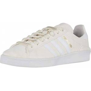 adidas Skateboarding Campus ADV Supplier Colour/Footwear White/Gold Metallic Men's 9, Women's 10