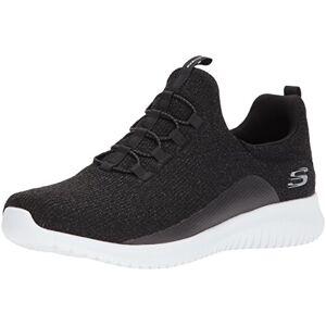 Skechers 12830 Tenis de Deporte para Mujer, color Negro, 25