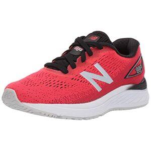 New Balance Boys' 880v9 Running Shoe, Energy Red/Black, 13.5 XW US Little Kid