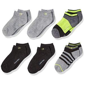 Calvin Klein Little CK Athletic calcetines ocultos, Multi, 4-7