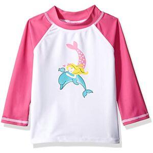 Flap Happy Sudadera para niña (UPF 50+), diseño gráfico, Malibu Mermaid, 6