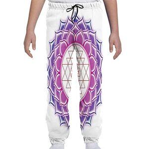 GULTMEE Pantalones de chándal para jóvenes, Estilo majestuoso y Sagrado, para montañas, Rocas en Las Nubes, Estilo Chino sudamericano, S-XL, de colores2, Large