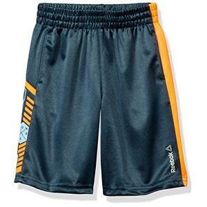 Reebok Toddler Boys' Performance Sport Short, Ink Blue Orange, 2T
