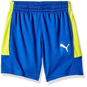 PUMA Marselo Pantalones Cortos para niño, Turkish Sea, X-Large (18/20)