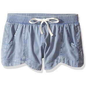 BILLABONG Mad for You Pantalón Corto para niña, Chambray, S/8 US