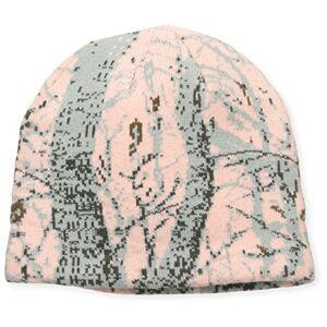 QUIETWEAR Gorro de Punto Digital para Hombre, Rosado (Pink Camo), Talla única