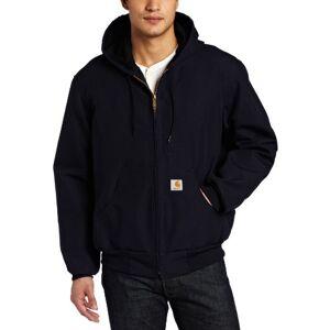 Carhartt J131 chamarra con capucha para hombre (forro térmico), diseño de pato activo, oscuro azul marino (Closeout), XXXX-Large