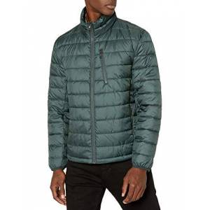 Marc New York by Andrew Marc Pearson Puffer chamarra para hombre, Oliva oscuro, XX-Large