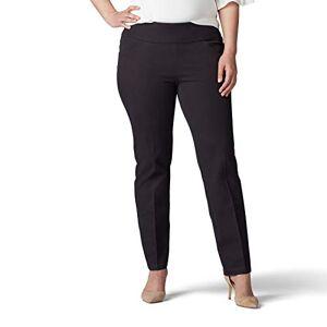Lee Pantalón Ajustado para Mujer (Talla Grande), Negro, 26W