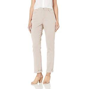 Gloria Vanderbilt Amanda Classic Pantalón de Jean cónico para Mujer, Wispy Pink, 38 Chiquita
