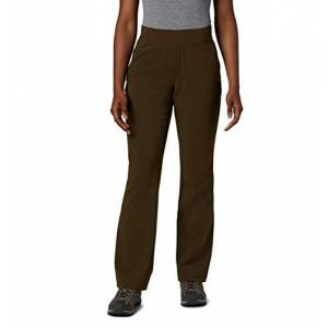 Columbia Back Beauty II Pantalones de Corte botín para Mujer, Olive Green, S
