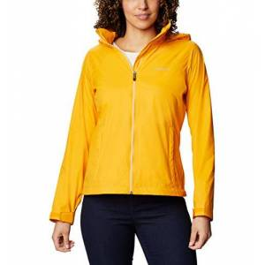 Columbia Switchback Iii chamarra impermeable ajustable para mujer, Caléndula brillante, XXL