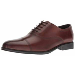 Kenneth Cole REACTION Zac Lace Up B Oxford para hombre, Coñac, 9 US