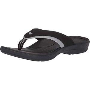 Powerstep Fusion Sandalias para Hombre, Negro, Men's Size 12 Regular US