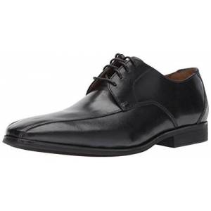Clarks 26129232 Zapatos de Cordones Oxford para Hombre, Black Leather, 080