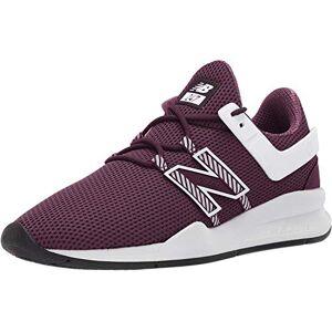 New Balance Men's 247v1 Deconstructed Sneaker, dark currant/white, 7.5 D US