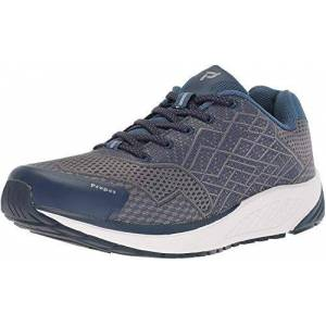 Propét Propt Propet One Zapatillas de Running para Hombre, Azul Marino/Gris, 11 XW US
