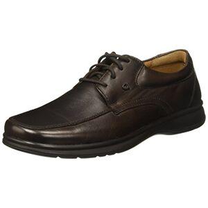 Quirelli  Zapatos de Cordones Derby para Hombre, Color Moka Marrón, 29