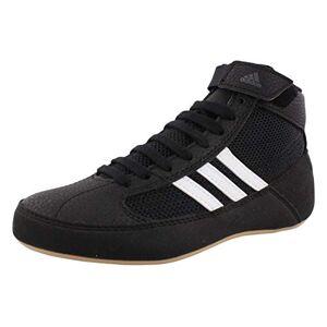 Adidas HVC2 AQ3325 Zapatos de lucha con tobillera, para hombre (niño, 2 colores), Negro, 11.5