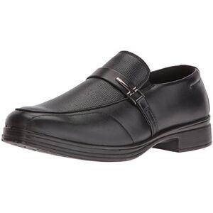 Deer Stags Boys' Bold Loafer, Black, 13 M US Little Kid