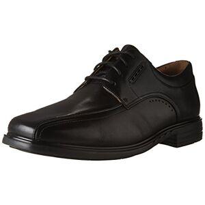 Clarks Men's Unkenneth Way Oxford, Zapatos para Hombre, Cuero negro, 9.5 W US