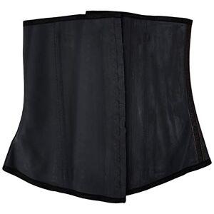Ann Chery Cintura Entrenador y Shaper Negro 3-Gancho de látex Cintura Cincher-Cinturón, Negro, Grande