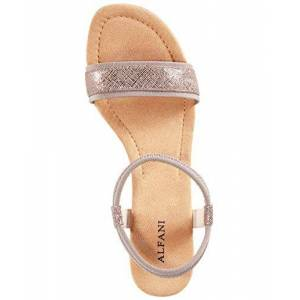 Alfani Womens Giselle Open Toe Casual Ankle Strap Sandals