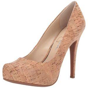 Jessica Simpson Parisah6 Zapatos de tacón para Mujer, Natural, 8.5 M US