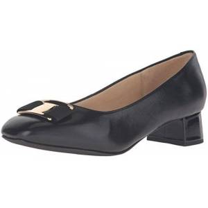 Trotters Louise Zapatos de tacón para Mujer, Negro, 8 Narrow