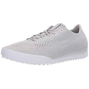 Puma Monolite Cat Zapatillas de Golf de Malla para Mujer, Gris Violeta-puma Blanco, 11