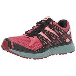 SALOMON Women's X-Mission 3 W Trail Running Shoe, Garnet Rose/Trellis/Coral Almond, 5.5