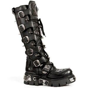 New Rock Newrock Boots Style M.161 S1 Negro Unisex Reactor, Negro, 13.5 Women/13 Men