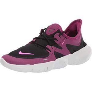 Nike Free RN 5.0 Zapatillas de running para mujer, color negro y rosa