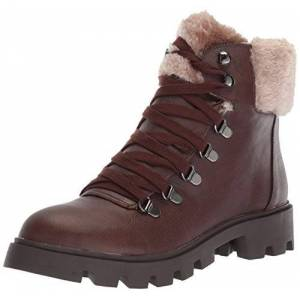 LFL by Lust for Life Ll-Freeze Bota de Moda para Mujer, Marrón/marrón, 8.5 US