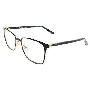 Gucci  anteojos de sol (metal, talla 54), 002 negro, 54-18-140