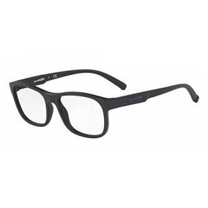 Arnette AN7171 Williamsburg anteojos rectangulares para hombre, Matte Black/Demo Lens, 54 mm
